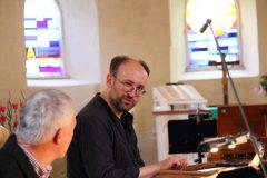 Thomas Rink und  Peter Uehling – gute Stimmung!!!